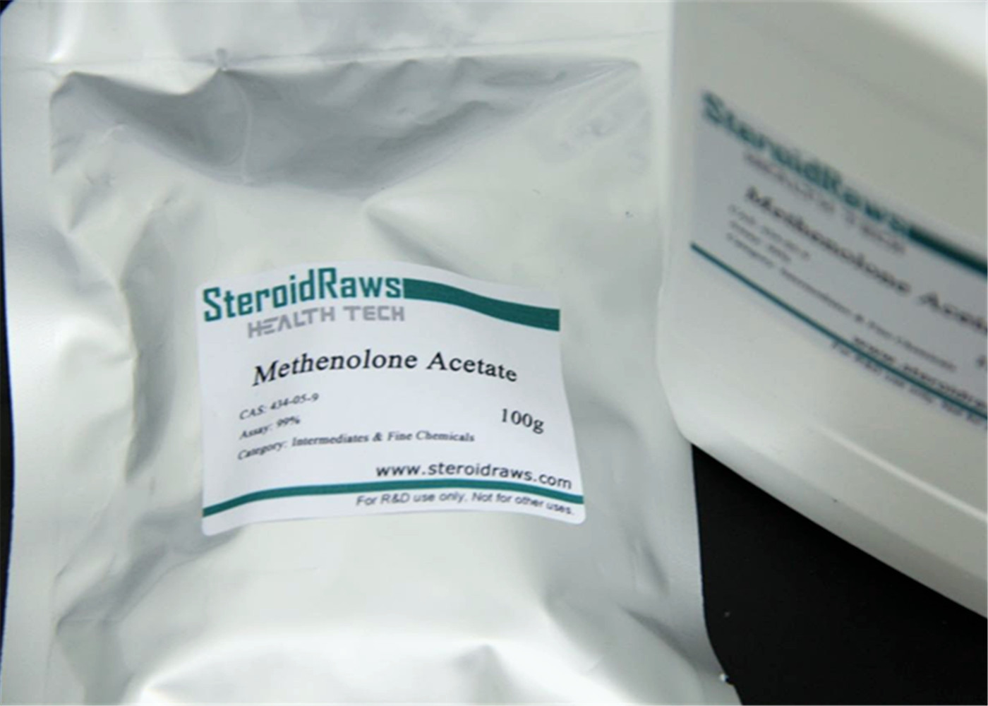 Well Tolerated Anabolic Primobolan Steroid Powders Methenolone Acetate 434-05-9 99% High Purity